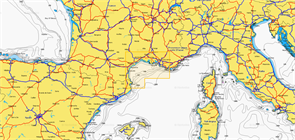 Карты Navionics Small 5G541S2 GOLFE DU LION