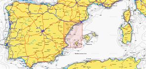 Карты Navionics Small 5G543S2 BARCELONA - BENIDORM