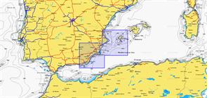Карты Navionics Small 5G544S2 VALENCIA - ALMERIMAR