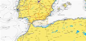 Карты Navionics Small 5G545S2 AGUILAS - CADIZ
